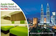 Book a best budget hotel in Malaysia online. Exclusive deals on a wide range of accommodation throughout Malaysia. We provide modern comforts for a family vacation. http://www.applehotels.com/kuala-lumpur-malaysia-most-gratifying-destination-for-tourists/