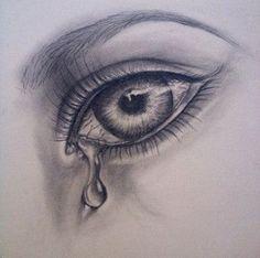 60+ trendy eye crying art pencil drawings #eye