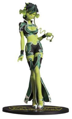 DC Direct Ame-Comi Heroine Series: Jade PVC Figure