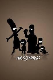 """Résultat de recherche d'images pour """"silhouette les simpsons"""""""