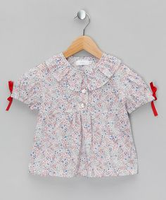 Blura Pink Liberty Print Frilled Tunic - Toddler & Girls by Amelia Milano & Blura on #zulilyUK today!