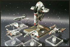 Kihraxz Fighter pintado por Xela