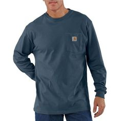 Carhartt Men's Long Sleeve Workwear Pocket T-Shirt