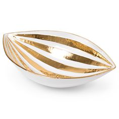 Metallic bowl