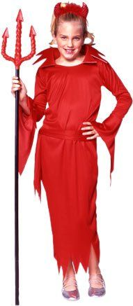 Red Devil Girl Halloween Costume