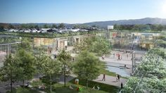 "Renzo Piano Returns to Bay Area, Designs ""Plaza District"" for City Center"