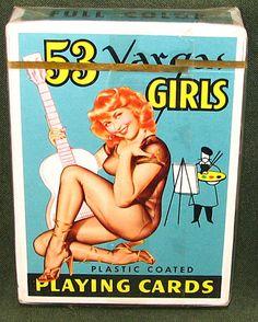 53 VARGAS GIRLS PIN-UP PLAYING CARDS
