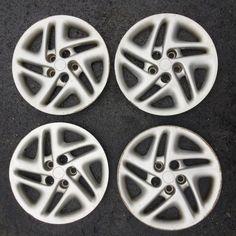 "Set 4 16"" 98-01 Dodge Intrepid Silver Factory OEM Wheel Hubcaps 0QX36TRMAB 30699 #Dodge Oem Wheels, Hub Caps, Nissan Altima, Wheel Cover, Oem Parts, Dodge, Silver, Ebay, Things To Sell"