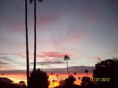 Sun City, AZ - sunset -    Taken by: Diana Luevano Ruiz