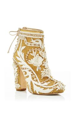 Demi Booties by MARCHESA for Preorder on Moda Operandi