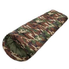 Buy JHO-Cotton Camping sleeping bag envelope style camouflage Multifuntional Outdoor SleepingBag Travel Keep Warm LazyBag Tent Camping Beds, Camping 3, Outdoor Camping, Camping Hacks, Camping Toilet, Backyard Camping, Camping Items, Camping Outdoors, Apocalypse