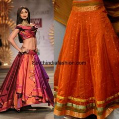 long_skirts_from_old_silk_sarees.jpg (600×600)