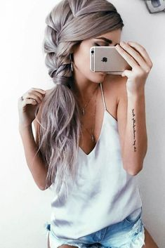 Do you like braided hairstyles but think that your hair is too thick or too thin for them? See our selection of braids ideal for all hair types #braidedhairstyles