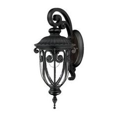 Acclaim Lighting Naples Outdoor Sconce by Acclaim. $84.57. Size:Small, Finish:Matte Black, Glass:Clear Seeded, Light Bulb:(1)100w A19 Med C Incand Naples outdoor sconce.