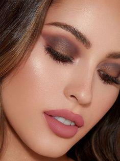 Kylie jenner makeup – Hair and beauty tips, tricks and tutorials Makeup Tips, Beauty Makeup, Eye Makeup, Hair Makeup, Makeup Ideas, Makeup Products, Matte Makeup, Makeup Inspiration, Brown Matte Lipstick