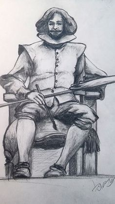 Diego Velazques. drawing