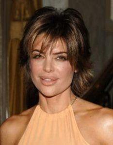 Lisa Rinna Razored Haircut