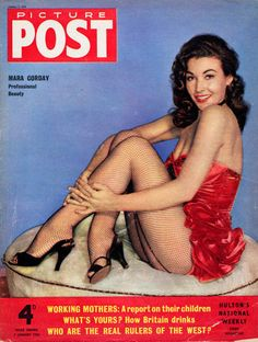 Picture Post, January 1956. (Mara Corday)