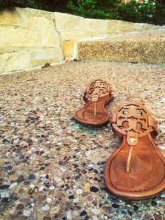 Tory Burch sandals... i want