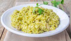 Risotto con broccoli, salsiccia, piatto autunnale, risotto cremoso, ricetta facile, primo piatto saporito, idea per pranzo o cena, verdure di stagione, riso e carne