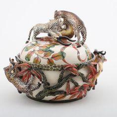 Ardmore Ceramics Leopard Tureen
