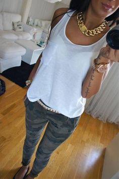 women's camo pants urban outfitters | camo pants Decalz - Vanessa Yee | Lockerz