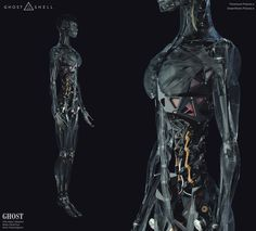 "ArtStation - Concept Design work for ""Ghost In The Shell"" film, Vitaly Bulgarov"