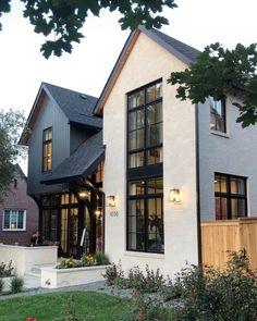 Future House, Design Exterior, Stone Exterior, Exterior Colors, Interior Design, Modern Farmhouse Exterior, Modern Home Exteriors, House Exteriors, Dream House Exterior