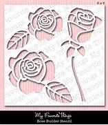 Easy Rose Stencil Rose builder stencil