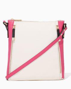charming charlie   Topanga Crossbody Bag   UPC: 400000087412 #charmingcharlie