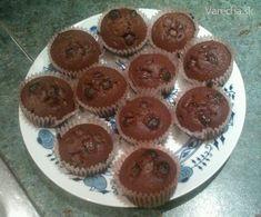 Hrnčekové čokoládové muffiny - Recept