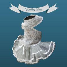 New Dog dress Pattern Wedding time❗