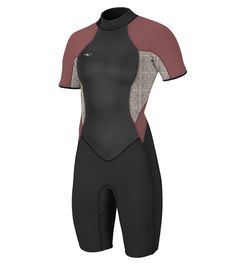f9c9b86b7d Canoeing - ONeill Womens Bahia 2 1mm Back Zip Short Sleeve Spring Wetsuit  Black