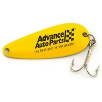 Land some sales today with these classic lures. With over 50 million anglers in the U.S., our spoon lures have been catching fish for over 100 years. Land some sales today with these classic lures. Our small spoon measure 2 1/4 inches long and comes in various colors. Great for all freshwater fishing, trout, salmon, bass and other game fish. Comes with a hook bonnet covering the hook. Packaged in individual, crystal-clear zip poly bags. See website for additional packaging options.  2 1&...