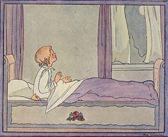 Rie Cramer -Fleurige liedjes Art Nouveau Illustration, Children's Book Illustration, Vintage Drawing, Vintage Art, Arte Peculiar, West Art, Famous Art, Naive Art, Moon Art