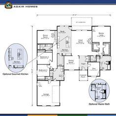 the lincoln custom home floor plan adair homes homes to look