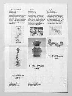 Print for three dimensional designer Paul Loebach created by Studio Lin