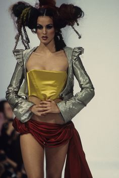 See detail photos for John Galliano Spring 1993 Ready-to-Wear collection.