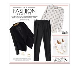 """""""Sheinside"""" by water-polo ❤ liked on Polyvore featuring moda, Sheinside ve polyvoreeditorial"""