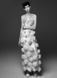 Steven Pan photographs 'Fashion 1' with styling done by Sissy Vian for Flair, Dec 2012 with hair by Rudi Lewis