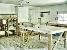 ceramics studio Woodstock Guild Org.