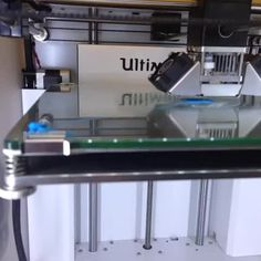 Our Ultimaker in action!