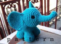 Amigurumi Patterns Elephant : Percy the baby elephant crochet pattern pdf baby elephants