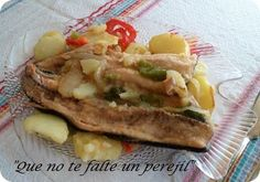 Truchas al Horno con Patatas