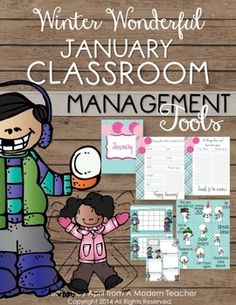 Tools for a Positive Classroom; Classroom Management Ready-to-Go; includes reward charts, encouragement cards, positive tickets, reward activity, newsletters, morning meeting prompts, to-do lists, cover pages; Check it out $ January Classroom Management Tools