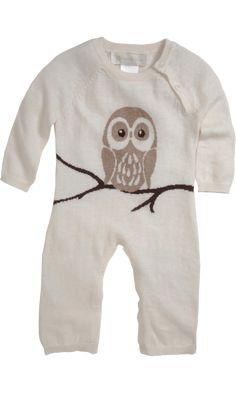 Owl Knit One Piece