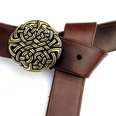 165 cm long #LARP-belt with #Celtic Buckle by Pera Peris. Available on ETSY for 41.99 €