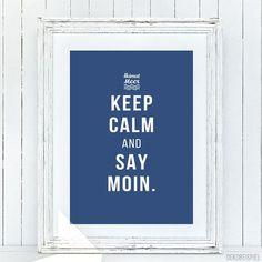 "Heimatmeer PRINT ""Keep Calm"""