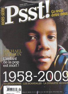 Michael Jackson in French magazine Psst!