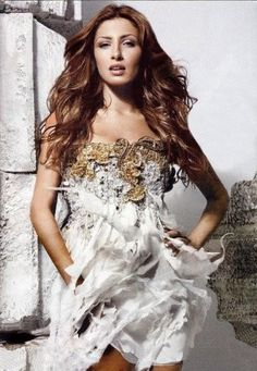 Elena Paparizou, this gorgeous Greek singer won Eurovision back in 2005, and is still making new songs